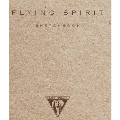 "Скетчбук ""Flying Spirit"", A6, 90 г/м2, 50 л, бежевый - 2"